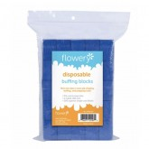 Flowery Disposable Buffing Blocks, 100 Pack