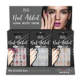 Ardell Nail Addict, 9 Piece Display