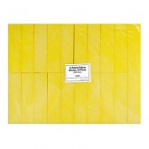 4-Sided Yellow Blocks, 20 Pack