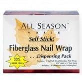 All Season Nails Fiberglass Nail Wrap Self-Dispensing Pack