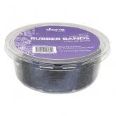 Diane Rubber Bands Black, 1000 Pack (Plastic Tub)