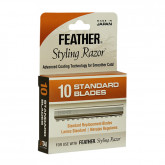 Jatai International Standard Feather Razor Replacement Blades, 10 Pack