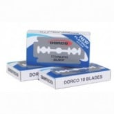 Dorco ST-300 Stainless Steel Blades, 100 Box
