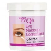 Andrea Eye Q's Eye Makeup Corrector Sticks, 50 Pack