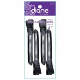 Diane Metal Control Clips, 4 Pack
