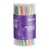 Diane Eyebrow Razors, 72 Pack