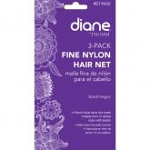Diane Nylon Hair Nets, 3 Pack