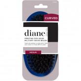 Diane Curved Prestige 100% Boar Military Wave Medium Brush