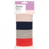 Diane Assorted Colors Ponytails, 35 Pack