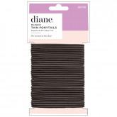 Diane Thin Black Ponytails, 35 Pack
