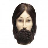 Diane Aiden with Textured Beard Manikin Head