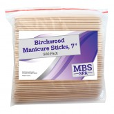 "Birchwood Manicure Sticks 7"", 500 Pack"