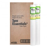 "Spa Essentials Smooth Table Paper 21"" x 225' (Case of 12)"