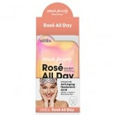 Body Drench Mask Society Rose All Day, 24 Pack