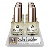 Seche Condition Keratin Infused Cuticle Oil, .5 oz (6 Piece Display)