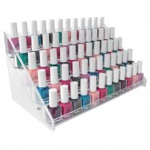 DL Professional Nail Polish Rack (Holds 50 Pieces)