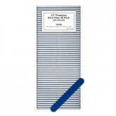 "3.5"" Premium Blue Files, 50 Pack (120/240 Grit)"