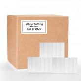 White Buffing Blocks, Box of 1000 (150 Grit)