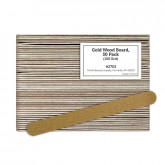 Gold Wood Board, 50 Pack (100 Grit)