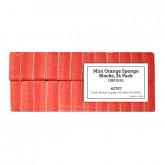 Mini Orange Sponge Blocks, 24 Pack (180 Grit)