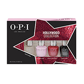 OPI Infinite Shine , 4 Pack Mini Kit (Hollywood Collection)