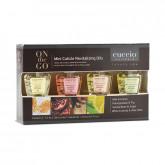 Cuccio Mini Revitalizing Cuticle Oil, 4 Piece Box (Assorted)
