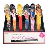 Satin Edge Starlet Collection Tweezer, 24 Piece Display