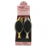 Spornette Swizzle Metallic Brush, 10 Piece Display