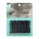 "Hair Ware Premium Hold Black Hair Pins 1 3/4"", 100 Count"