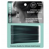 "Hair Ware Strong Hold Bobby Pins 2 3/4"", 20 Count"
