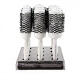 Cricket Ultra Smooth Coconut Thermal Brush Collection, 12 Piece Display (370, 390,400)