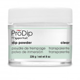 Super Nail ProDip Clear Powder, 8 oz
