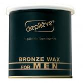 Depileve Bronze Wax For Men, 14.1 oz