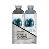 Rusk Pure Mix Activated Charcoal Liter Duo