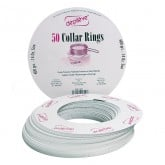 Depileve 14 oz Collar Rings, 50 Pack