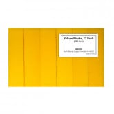 Yellow Block 220 Grit, 12 Pack