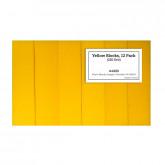 Yellow Block 220 Grit, 12 Pack
