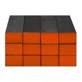 Sanitizable Sanding Blocks Orange, 12 Pack