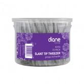 Diane Slant Tip Tweezer, 72 Pack