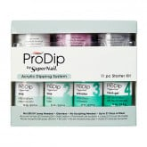 Super Nail ProDip Starter Kit, 11 Piece