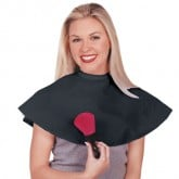 Scalpmaster Black Nylon Make-up Cape