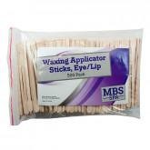 Waxing Applicator Sticks (Eye/Lip), 500 Pack