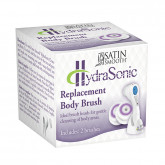 Satin Smooth HydraSonic Body Replacement Brush, 2 Pack