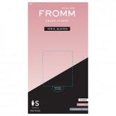 Fromm Color Studio Powder Free Vinyl Gloves, 100 Pack
