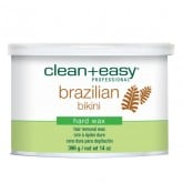 Clean & Easy Brazilian Bikini Hard Wax, 14 oz