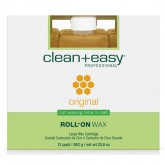 Clean & Easy Original Wax Refills Large, 12 Pack