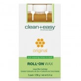 Clean & Easy Original Wax Refills Large, 3 Pack