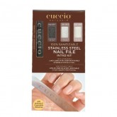 Cuccio Naturale Stainless Steel Nail File Intro Kit