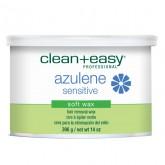 Clean & Easy Azulene Sensitive Soft Wax, 14 oz