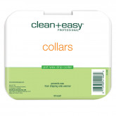 Clean & Easy Deluxe Pot Wax Collars, 50 Pack